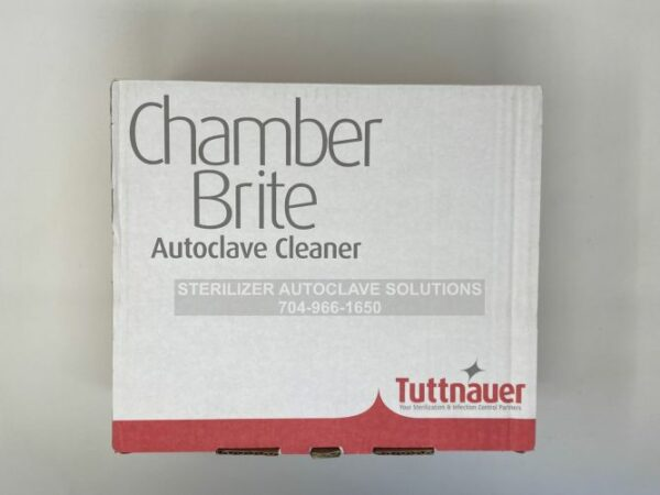 This is the top view of a case of 12 boxes of Chamber Brite Powder