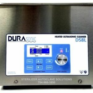 This is the front view of the Durasonic 2.1 gallon digital ultrasonic cleaner.