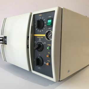 This is a refurbished Tuttnauer 1730M autoclave