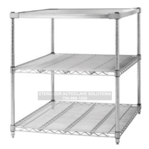 This is a Tuttnauer 3870 3 shelf OEM autoclave stand.