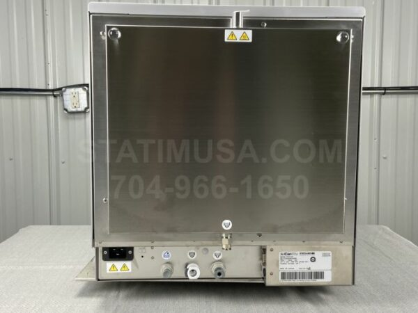 This is the rear view of a Scican Statclave G4 autoclave.