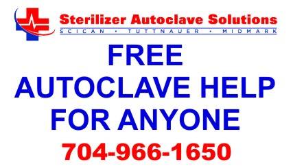 We offer FREE Autoclave Help to Anyone... Even if your not our customer.