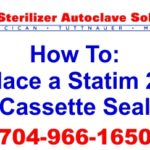 We want to help you learn the proper way to replace a Scican Statim Cassette Seal OEM 01-100028s