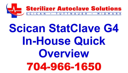 This is our Scican StatClave G4 In-house quick review for performance and ease of use.