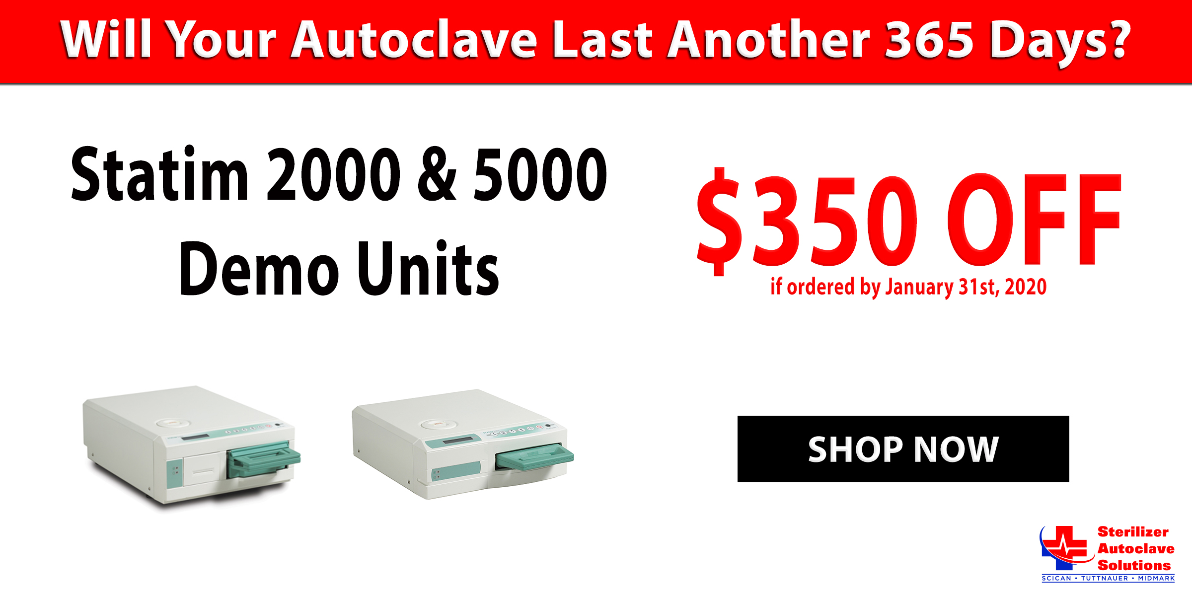 Autoclave Monthly Specials