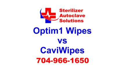 Optim 1 Wipes vs CaviWipes the real difference in these two disinfectant cleaners