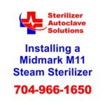 An article on Midmarks guidelines for installing a midmark ritter m11 self contained steam sterilizer