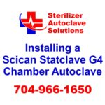 See the steps to properly install a Scican Statclave G4 chamber autoclave for in-service use