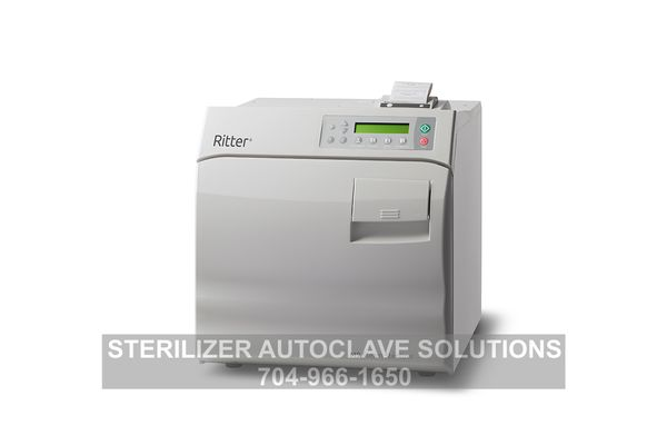 This is the new Ritter/Midmark M9 Steam Sterilizer with the Printer accessory