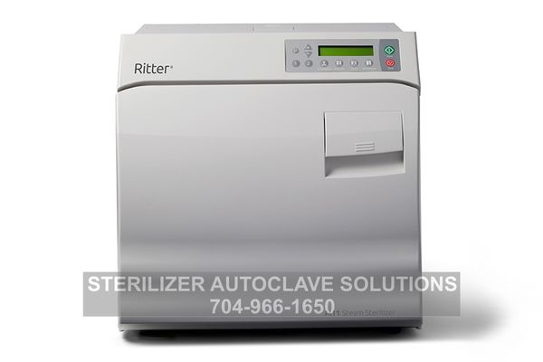 This is the new Ritter/Midmark M11 Chamber Autoclave