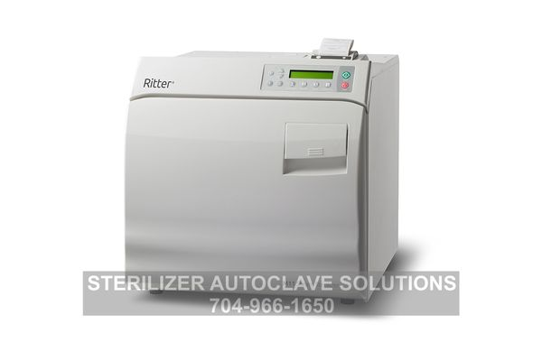This is the new Ritter/Midmark M11 Chamber Autoclave with available Printer option.