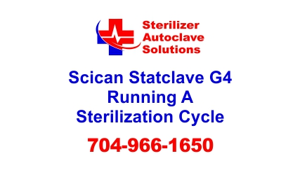 This article shows Scican's procedures for running a sterilization cycle in a Statclave G4