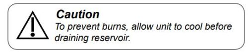 This is a caution to prevent burns
