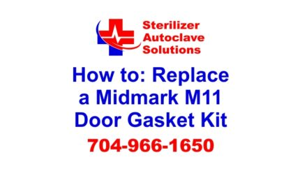 An article on how to replace a midmark m11 door gasket kit.