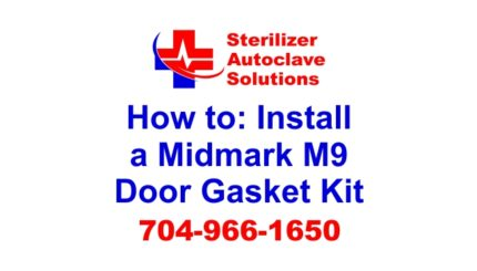 An article on how to replace a midmark m9 door gasket kit.