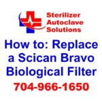 A quick tip guide to help replace a Scican Bravo Biological Filter