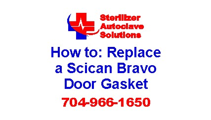 A quick tip guide to help replace a Scican Bravo Door Gasket