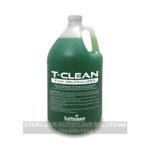 This is a 4L bottle of Tuttnauer T-Clean Tiva Neutralizer