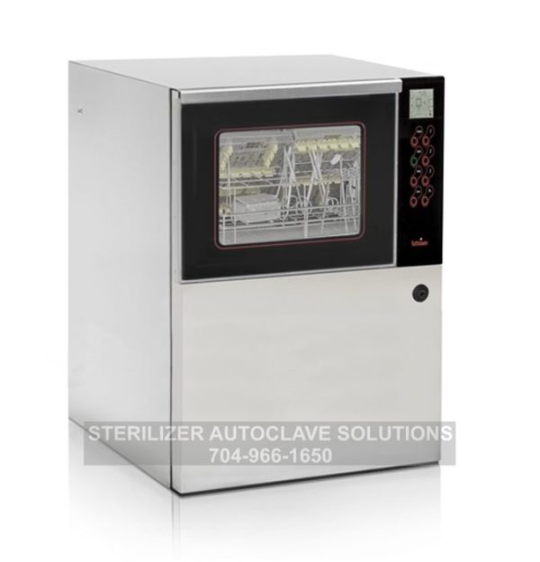 This is a tuttnauer tiva2 td under the counter thermal high disinfection washer