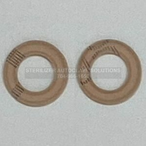 This is the top of the Midmark Heater Element Gaskets OEM H98137 that fit the Midmark M7, M9, and M11 autoclave sterilizers