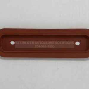 This is the front view of the Midmark M3® Door Seal OEM 002-1030-00