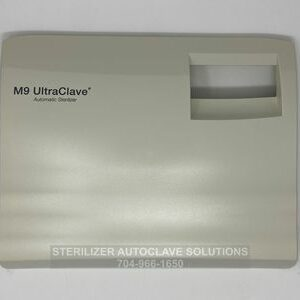This is the front view of the Midmark M9® Door Cover NS OEM 053-1251-00