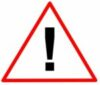 This is a caution symbol