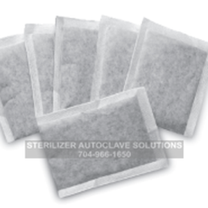 These are replacement carbon filter bags pn 8606 for the Tuttnauer DS1000 steam distiller purification system.