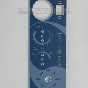 This is a Tuttnauer Control Panel OEM# CPN064-0022 for new style manual autoclaves