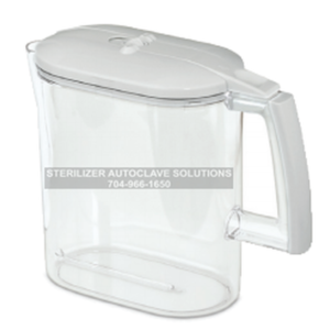 This is a 1 gallon replacement carafe for the Tuttnauer DS1000 steam distiller purification system.