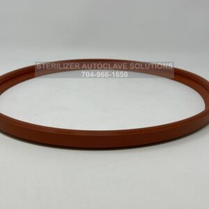 "This is a new Tuttnauer Elara 11"" Door Gasket OEM GAS080-0055 laying on it's side"