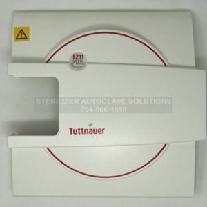 This is the front view of a NEW Tuttnauer Door Cover OEM# POL065-0091