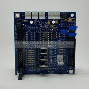 This is the front of a Tuttnaur PC Board (AJUNC-3) for the Tuttnauer Autoclave models listed in the description.