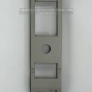 This is the front view of a Tuttnauer front panel base for DPU20 oem 02550018