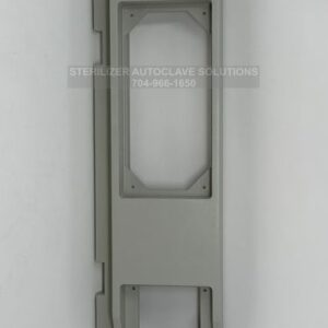 This is the front view of a Tuttnauer 3850M Front Panel Base Polyrit OEM 02550017