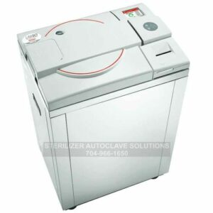 This is a Tuttnauer LABSCI 11Lv electronic vertical autoclave
