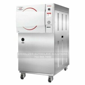 This is a Tuttnauer LABSCI 15+LWS stand-alone electronic autoclave