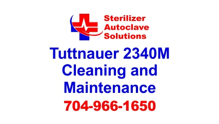 This article is on Tuttnauer 2340M Manual Autoclave Cleaning and Maintenance