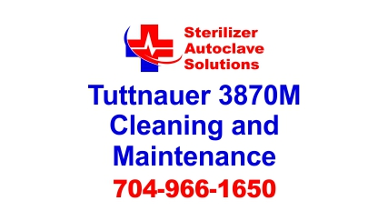 This article is on Tuttnauer 3870M Manual Autoclave Cleaning and Maintenance