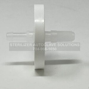 This is the side view of a NEW Tuttnauer ELARA HEPA Air Filter OEM FIL175-0042