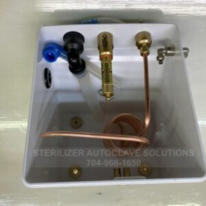 This is a Tuttnauer EZ11Plus and EZ9Plus complete water reservoir without a lid. It is OEM CMT411-0075.