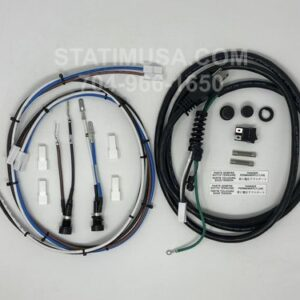 These are all the parts included in the Scican Bravo 17V and 21V Fuse Holders, Wire Harness, Power Cord OEM 95509199 package