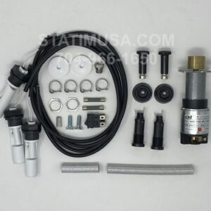 These are all the parts included in the Scican Bravo 17V and 21V Upgrade Kit OEM 95509144 package.