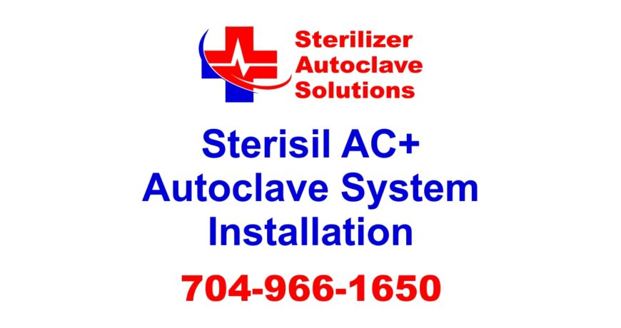 This article explains how to install a Sterisil AC+ Autoclave System.