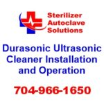 This article explains the installation and operation procedures for the Durasonic series of Ultrasonic cleaners