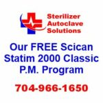 This article explains our FREE Preventive Maintenance Program that is available for the Scican Statim 2000 Classic sterilizer autoclave.