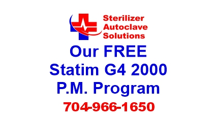 This article explains our FREE Preventive Maintenance Program that is available for the Scican Statim G4 2000 sterilizer autoclave.