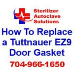 This article explains how to replace the door gasket on a Tuttnauer EZ9 steam autoclave
