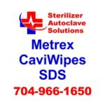 This article is the SDS sheet for Metrex CaviWipes disinfecting wipes.