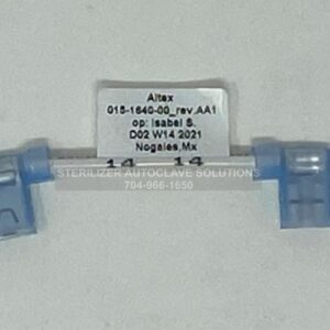 This is a Midmark M9 or M11 Thermostat Jumper Wire OEM 015-1640-00
